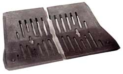 18 inch Baxi Standard Grate OLD STYLE  BG019